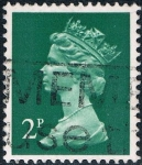 Sellos de Europa - Reino Unido -  ISABEL II TIPO MACHIN 1970-80. Y&T N� 608