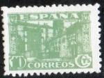 Sellos de Europa - España -  805- Junta de Defensa Nacional. Universidad de Salamanca.