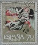 Sellos de Europa - España -  xxv aniversario alzamiento nacional 1961