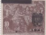 Stamps Europe - Spain -  Hogar escuela de huerfanos de correos -LOS BORRACHOS(Velázquez)    (I)