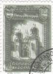 Stamps Spain -  Pro Unión Iberoamericana- Pabellón de Colombia    (I)