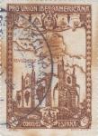 Stamps Spain -  Pro Unión Iberoamericana- Pabellón de Venezuela    (I)