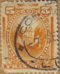 Stamps Peru -  ESCUDO