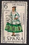 Stamps : Europe : Spain :  TRAJES TIPICOS ESPAÑOLES