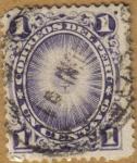 Stamps Peru -  SOL