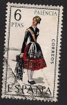 Stamps of the world : Spain :  TRAJES TIPICOS ESPAÑOLES