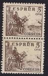 Stamps Spain -  Cifras Cid e Isabel