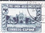Sellos de Europa - España -  Pro Unión Iberoamericana- Pabellón de Méjico     (I)