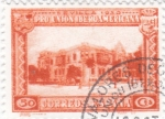 Stamps Spain -  Pro Unión Iberoamericana- Plaza España de la Exposición   (I)