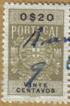 Sellos de Europa - Portugal -  ESCUDO de ARMAS