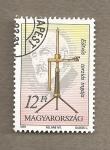 Stamps Hungary -  Centenario del péndulo de torsión