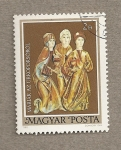Stamps Hungary -  Esculturas