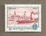 Stamps Hungary -  Buda en 1872