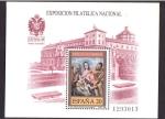 Stamps Spain -  exposición filatelica nacional