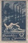 Stamps Spain -  HOMENAJE A LOS OBREROS DE SAGUNTO     (I)