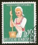 sellos de Europa - Alemania -  WOHLFAHRTSMARKE - DEUTSCHE BUNDESPOST