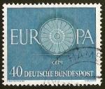 sellos de Europa - Alemania -  EUROPA CEPT - DEUTSCHE BUNDESPOST