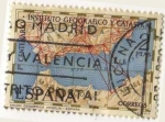 Stamps Spain -  2001.- Centenario del Instituto Geografico y Catastral.