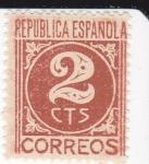 Sellos de Europa - España -  CIFRAS     (I)