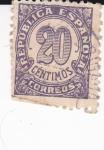 Stamps Spain -  CIFRAS     (I)