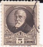 Stamps Spain -  Francisco Pí  y Margall       (I)