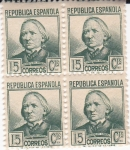 Stamps Spain -  Concepción Arenal         (I)