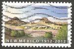 Sellos de America - Estados Unidos -  Centº de New México