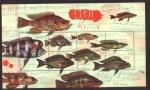 Sellos del Mundo : Africa : Liberia : peces de africa