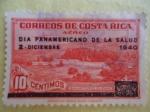 Sellos de America - Costa Rica -  Sanatorio  Durán.  -(Día Panmericano de la Salud,2 de Dic. 1940)
