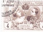 Sellos de Europa - España -  EXPOSICIÓN DE INDUSTRIAS DE MADRID- Sellos recuerdo    (I)