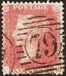 Stamps United Kingdom -  Clásicos - Inglaterra