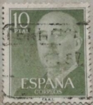 Stamps Spain -  franco 1955