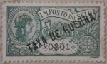 Stamps Europe - Portugal -  colonias imposto do selo taxa de guerra 1921