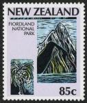 Sellos de Oceania - Nueva Zelanda -  NUEVA ZELANDA  Te Wahipounamu – Zona sudoccidental de Nueva Zelandia