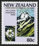 Stamps New Zealand -  NUEVA ZELANDA  Te Wahipounamu – Zona sudoccidental de Nueva Zelandia