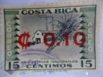 Sellos de America - Costa Rica -  Industrias Nacionales.- Azúcar