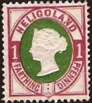 Stamps Europe - United Kingdom -  Clásicos - Heligoland