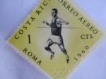 Stamps Costa Rica -  Roma 1960