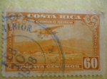 Sellos de America - Costa Rica -  Paisaje.