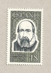 Stamps Iceland -  Petursson