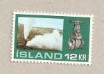Stamps Iceland -  Válvula de vapor