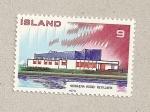 Sellos de Europa - Islandia -  Casa n´´ordica Reykjavik