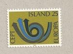 Sellos de Europa - Islandia -  Europa