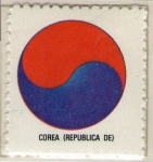 Stamps Asia - South Korea -  2 República de Corea-Escudo