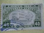 Sellos de America - Costa Rica -  Centenario del  Hospital San Juan de Dios 1845-1945