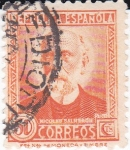 Stamps Spain -  Nicolás Salmerón          (I)