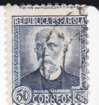 Stamps : Europe : Spain :  Nicolás Salmerón          (I)
