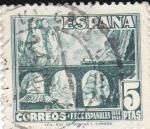 Sellos de Europa - España -  Desfiladero de Pancorbo       (I)