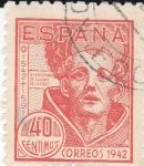 Sellos de Europa - España -  IV Centenario de San Juan de la Cruz      (I)