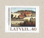 Sellos de Europa - Letonia -  Paisaje